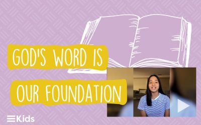 Ella Shares a Devotion on John 16:33 #OurFoundation