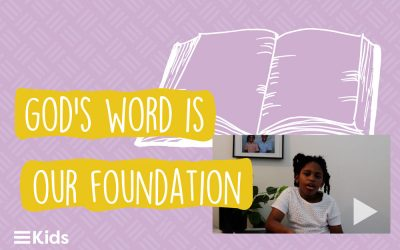 Mishelle Shares a Devotion on Proverbs 3:5 #OurFoundation